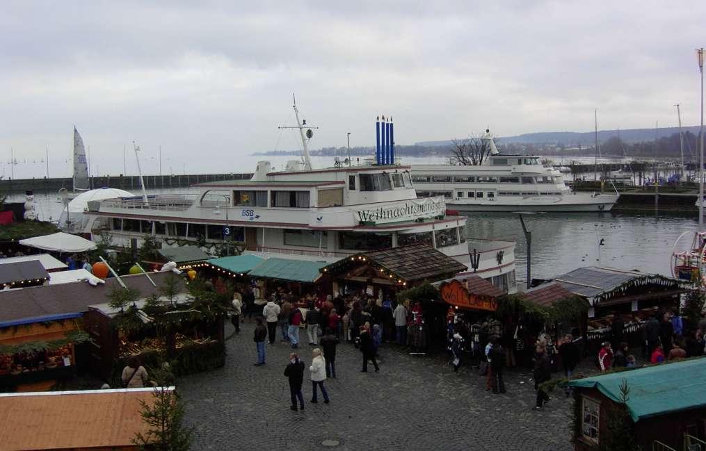 Weihnachtsmarkt am See 2003